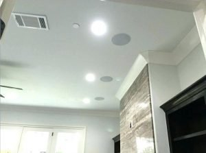 ceiling mounted speaker system