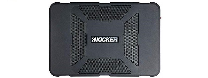 Kicker 11HS8 8″ 150W Hideaway Car Audio Powered Subwoofer